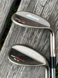 Mizuno MPR Series Wedge Set 56•10 SW 60•05 LW W Flex Shafts GP/Mizuno Grips