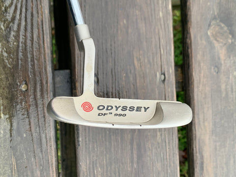 Odyssey DF 990 Stainless Steel Putter Odyssey Stronomic Shaft Lamkin Grip