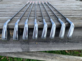 TaylorMade P790 '19 Iron Set 4-AW Recoil ES F4 S Flex Shafts GP MCC+4 Align Std Grips
