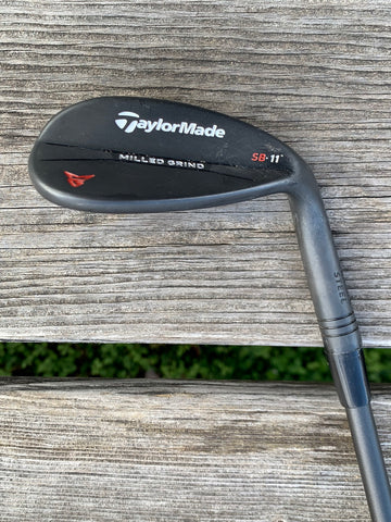 TaylorMade MG2 SB BLK 58•11 Wedge Recoil ES F4 S Flex Shaft GP MCC+4  Align Grip