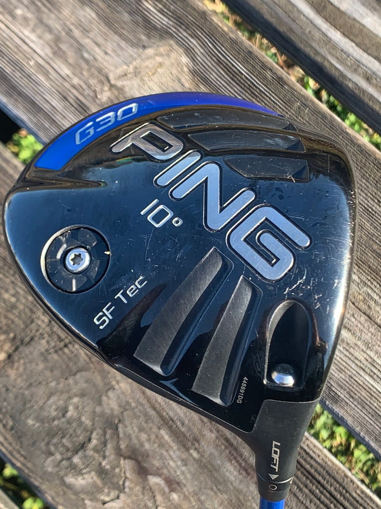 Ping G30 10° Driver Ping TFC 419 Regular Flex Shaft Ping Grip