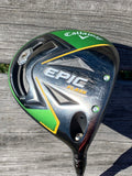 Callaway Epic Flash 10.5° Driver Project X Evenflow 55g Stiff Flex Shaft Golf Pride MCC Grip