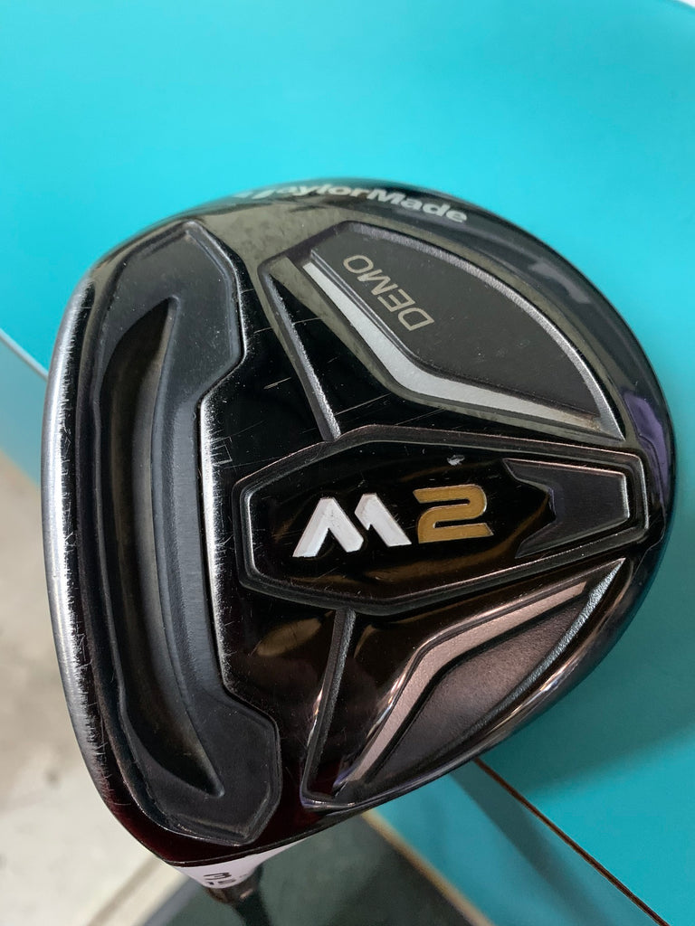 TaylorMade LH M2 15° 3 Wood M2 REAX 65g S Flex Shaft GP MCC+4 Midsize Grip