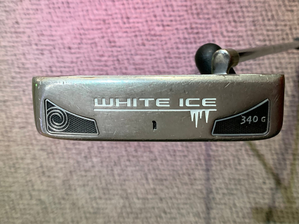 Odyssey White Ice 340G #1 Super Stroke Pistol GTR Tour Grip