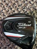 Titleist 913F 15° 3 Wood Aldila 70g Stiff Flex Shaft Golf pride Tour Velvet Grip