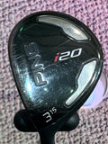 Ping Left Handed i20 15° 3 Wood Ping TFC707F Stiff Flex Shaft Ping Demo Grip