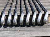 "Callaway Big Bertha X-12 -1 1/2"" Iron Set 3-PW RCH99 Firm Flex Shafts GP Tour Velvet Grips"
