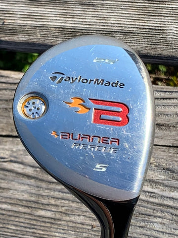 TaylorMade Burner 25° 5 Hybrid REAX 60g Regular Flex Shaft TaylorMade Grip