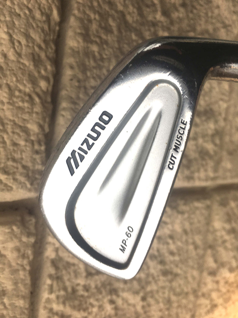 Mizuno MP 60 6 Iron Project X Flighted 65. Stiff Steel Shaft