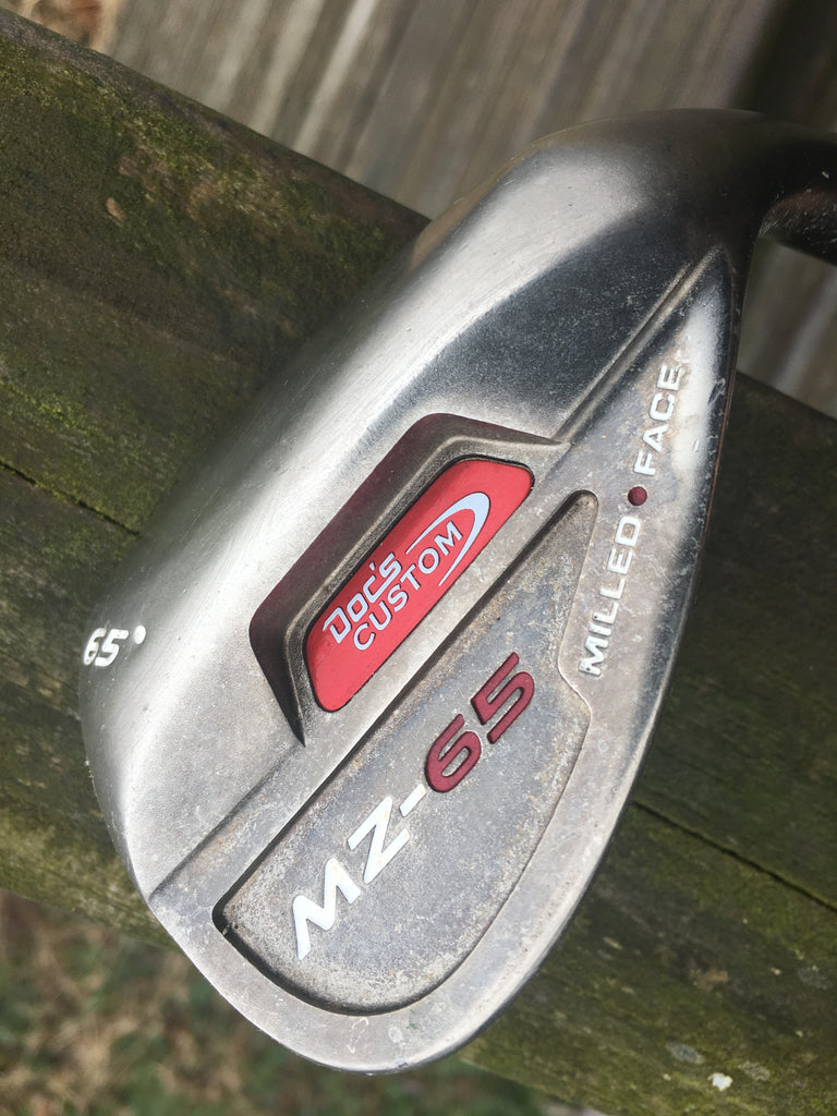 Doc's Custom MZ-65 65° Mille Face Wedge Steel Wedge Flex Shaft
