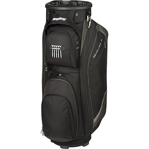 Revolver FX Cart Bag Black/Charcoal/Silver | Bag Boy