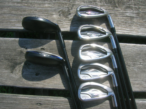Callaway Steelhead XR Combo Iron Set 4-PW Hzrdus R Flex Shafts Callaway Grips