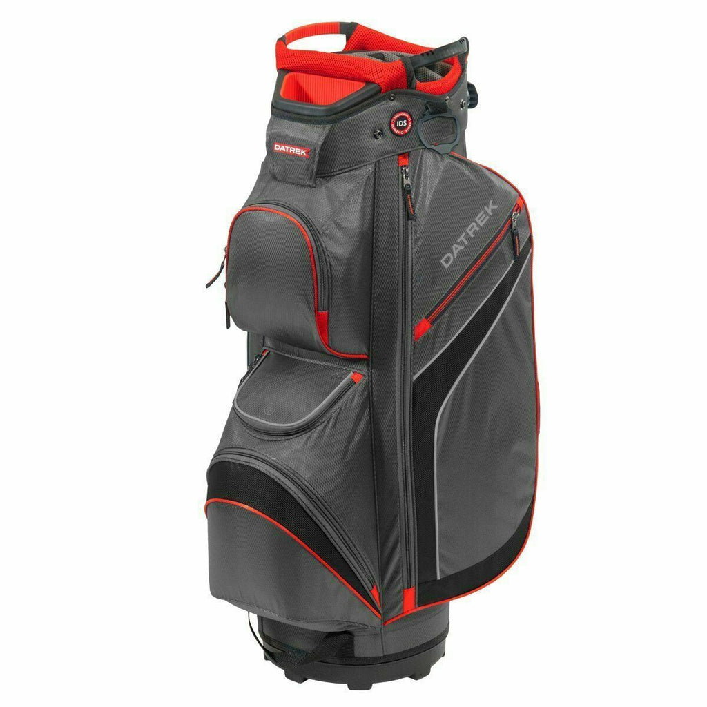 Datrek DG Lite II Cart Bag Charcoal Red Black 15 Way Divider