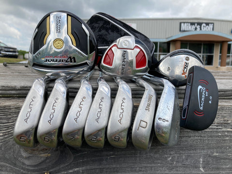 Adams Warrior Acuity Men's RH Complete Golf Club Set #073120TM1