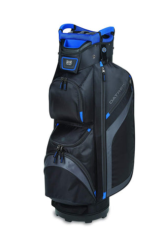 Datrek DG Lite II Cart Bag Black Charcoal Royal 15 Way Divider