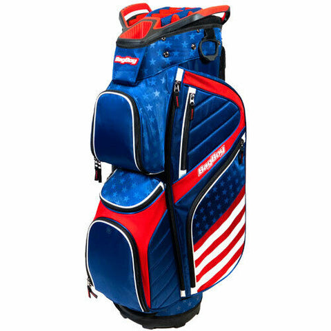 BagBoy CB15 USA Cart Bag Red White and Blue 15 Way Divider