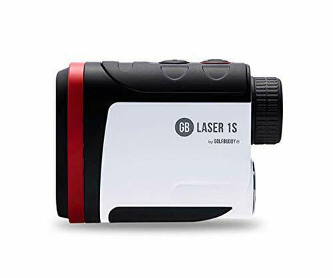 GolfBuddy Laser 1S 6x Rangefinder with Slope On/Off Mode 880 Yard Range