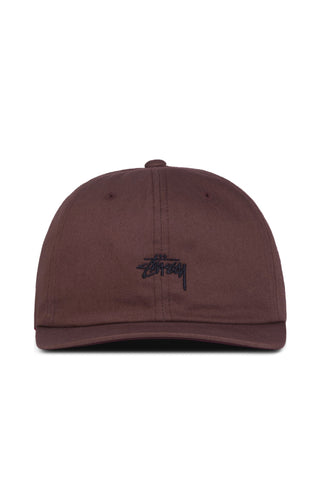 Stock Low Profile Strap Back - Maroon