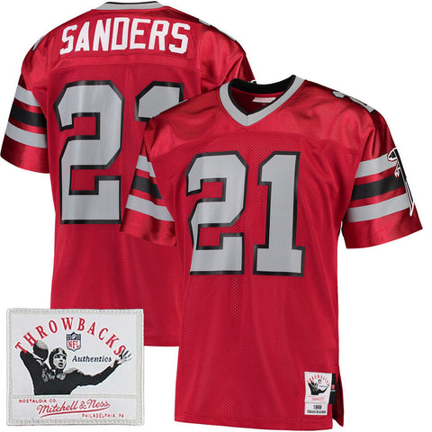 Mitchell & Ness Deion Sanders Throwback - ATL 1989