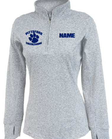 Ladies Performance 3/4 Zip