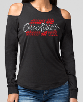 Cold Shoulder Long Sleeve (ladies)