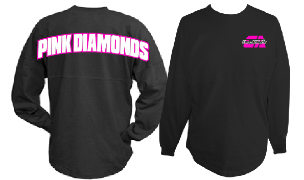Pink Diamonds Spirit Jersey