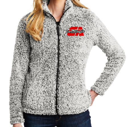 Embroidered Sherpa Jacket