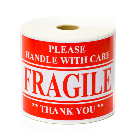 Handling Labels - Fragile - Please Handle with care