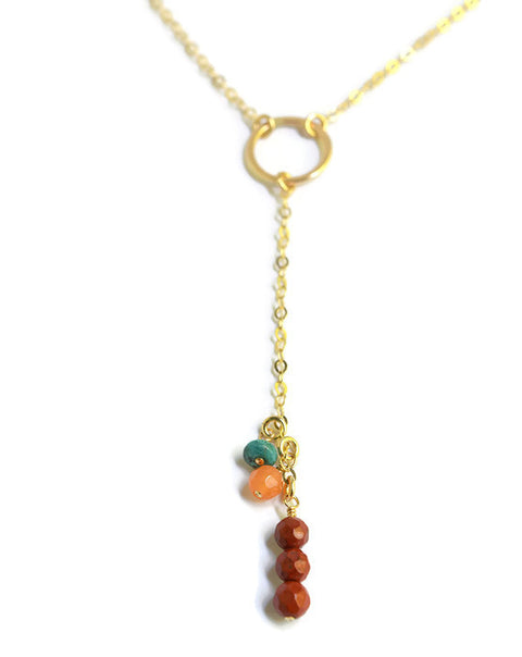 Avalon Gold Y-Necklace