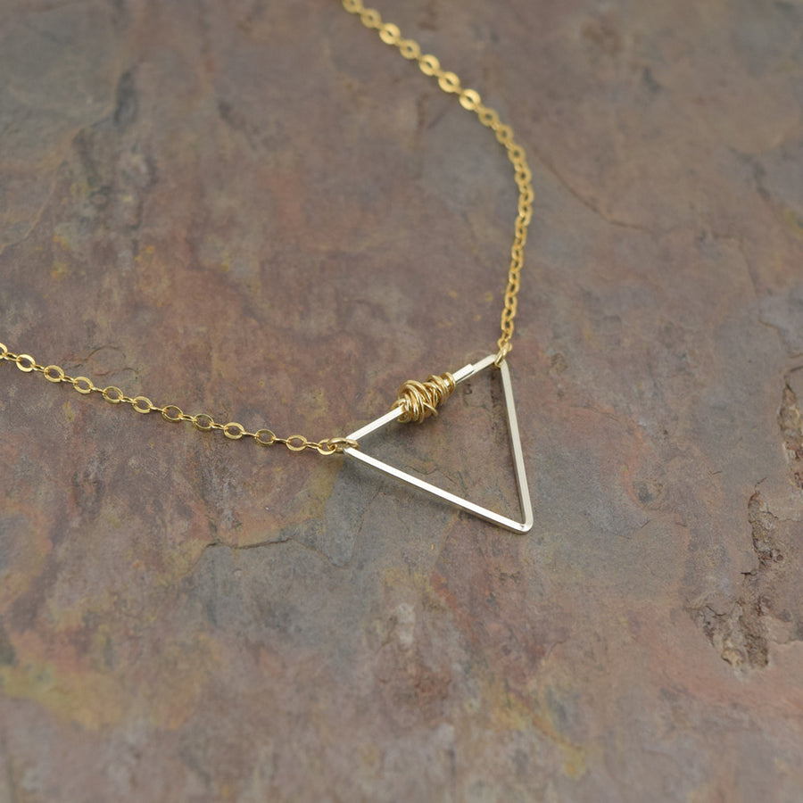 Balance Gold and Silver Necklace
