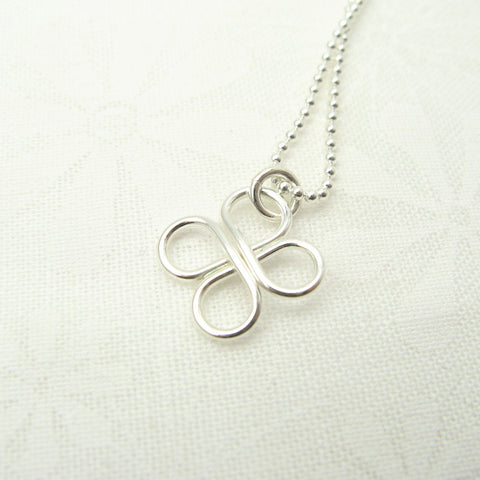 Clover Silver Necklace - Cloverleaf Jewelry