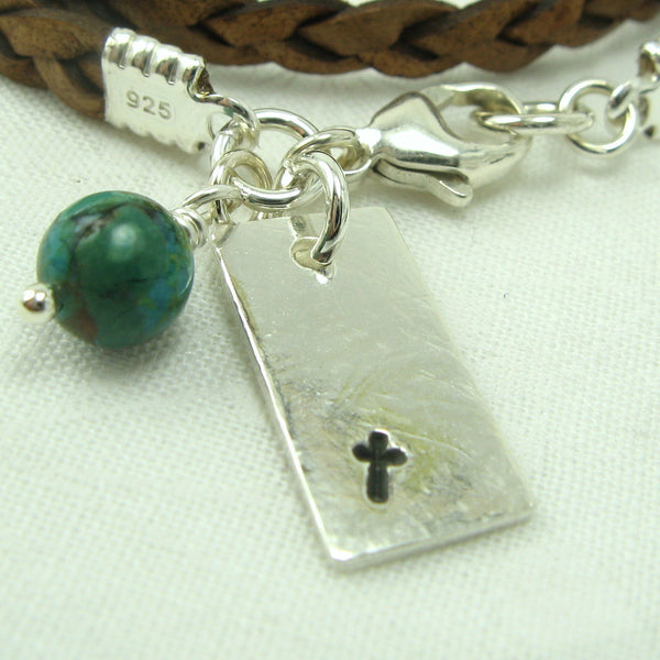 Cross Charm - Cloverleaf Jewelry