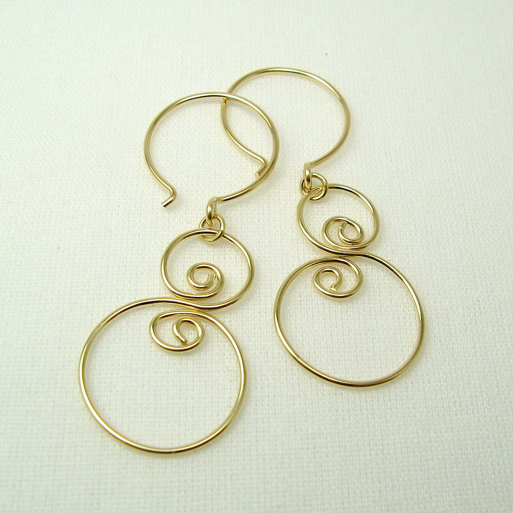 Eddy Gold Earrings