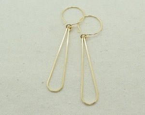 Elan Gold Earrings