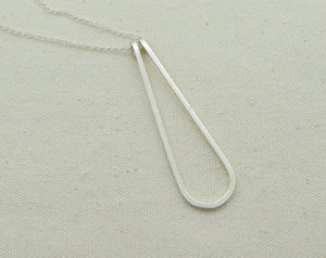 Elan Silver Necklace