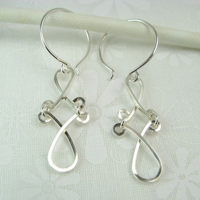 Enchant Silver Earrings