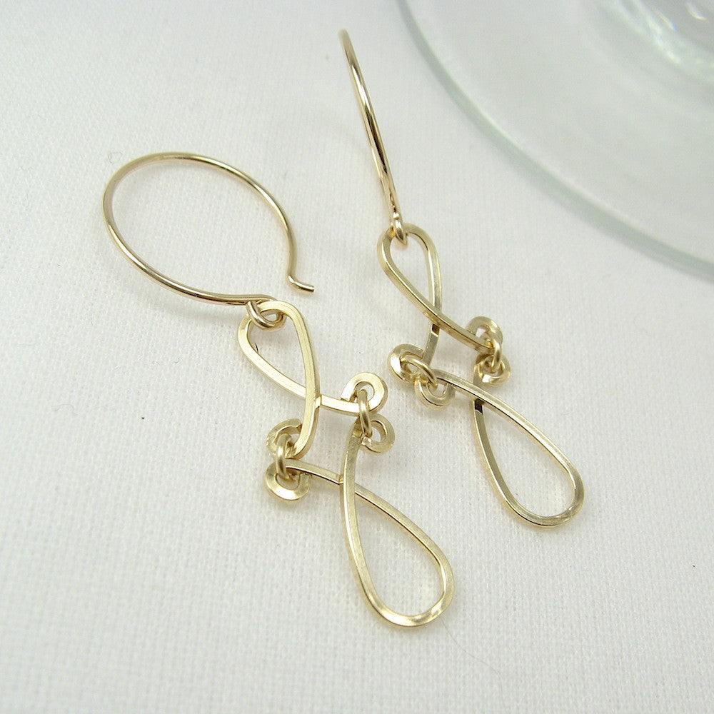 Enchant Gold Earrings