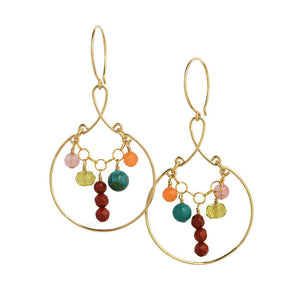 Jubilee Large Gold Earrings