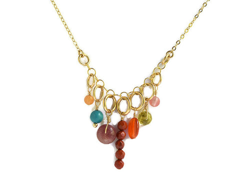Jubilee Gold Necklace - Cloverleaf Jewelry