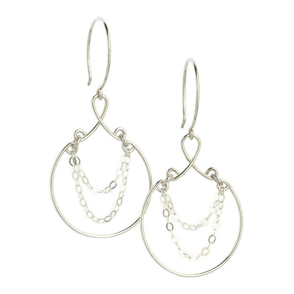 Jubilee Silver Earrings - Cloverleaf Jewelry