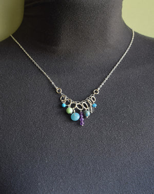 Jubilee Silver Necklace - Cloverleaf Jewelry