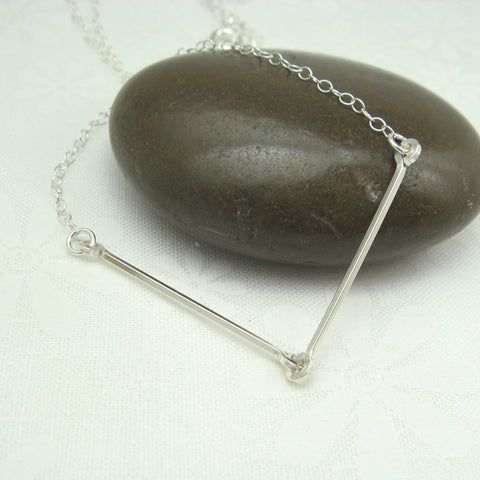 Linked Silver Necklace - Cloverleaf Jewelry