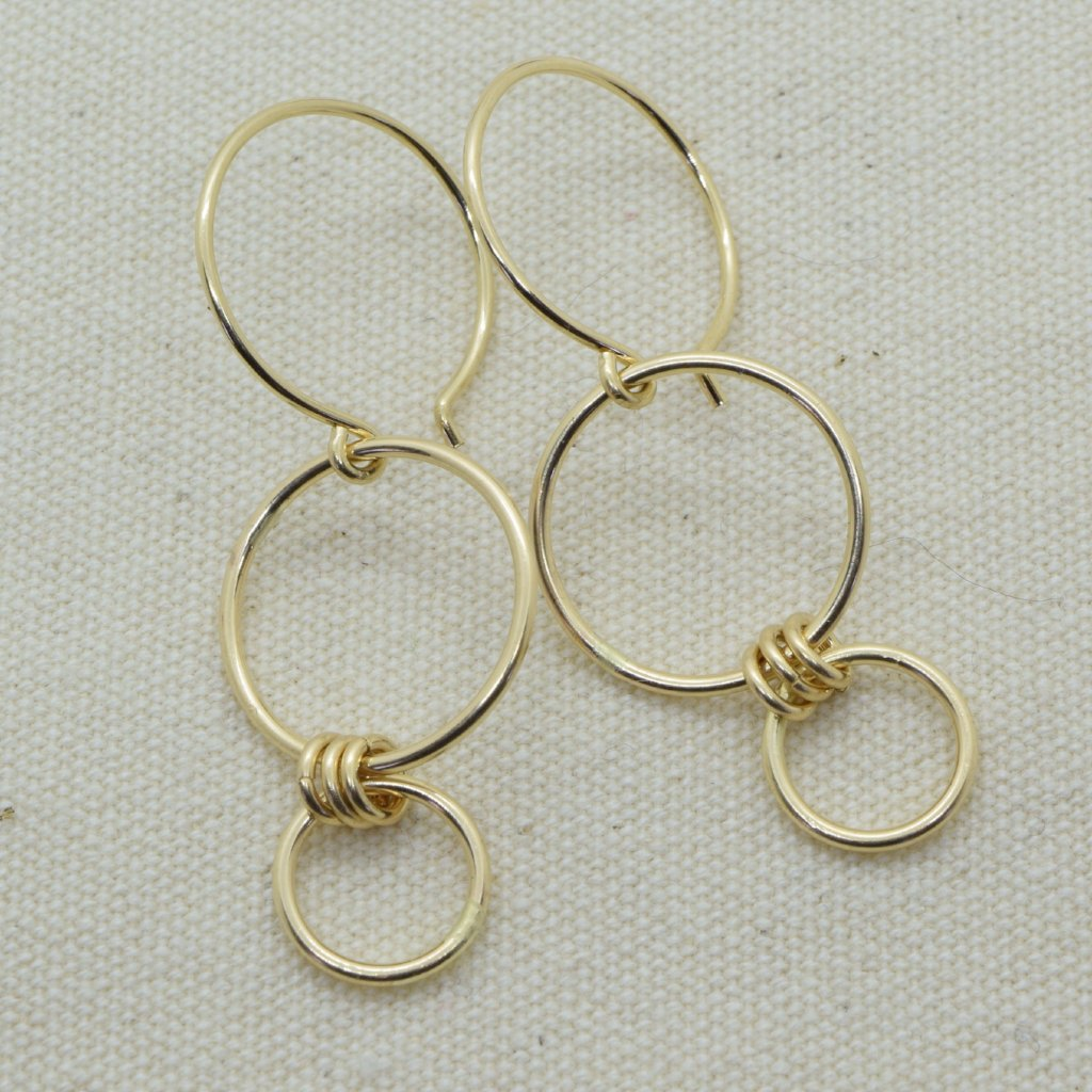 Nexus Gold Earrings
