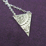 Pennant Silver Necklace