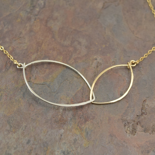 Petals Gold Necklace - Cloverleaf Jewelry