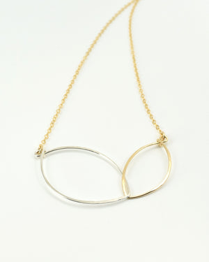 Petals Gold Necklace