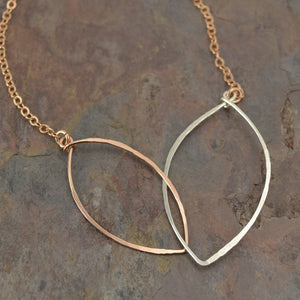 Petals Rose Gold Necklace