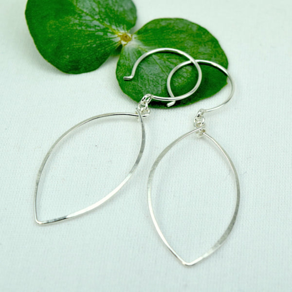 Petals Silver Earrings - Cloverleaf Jewelry