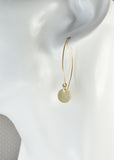 Reflect Gold Dangle Earrings - Cloverleaf Jewelry