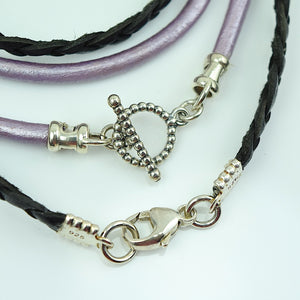 Swiss Cross Charm Leather Wrap Bracelet